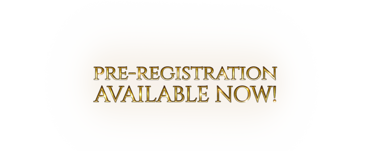 pre-registration available now!
